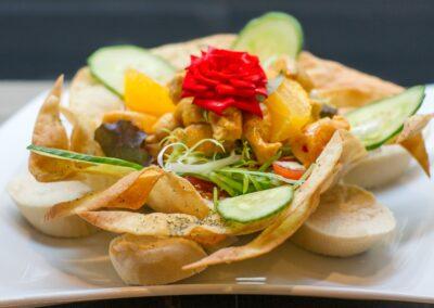 Mexicaans gerecht bij Du Passage eten drinken in Den Haag