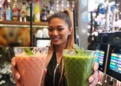 Verse smoothies bij Du Passage eten drinken in Den Haag